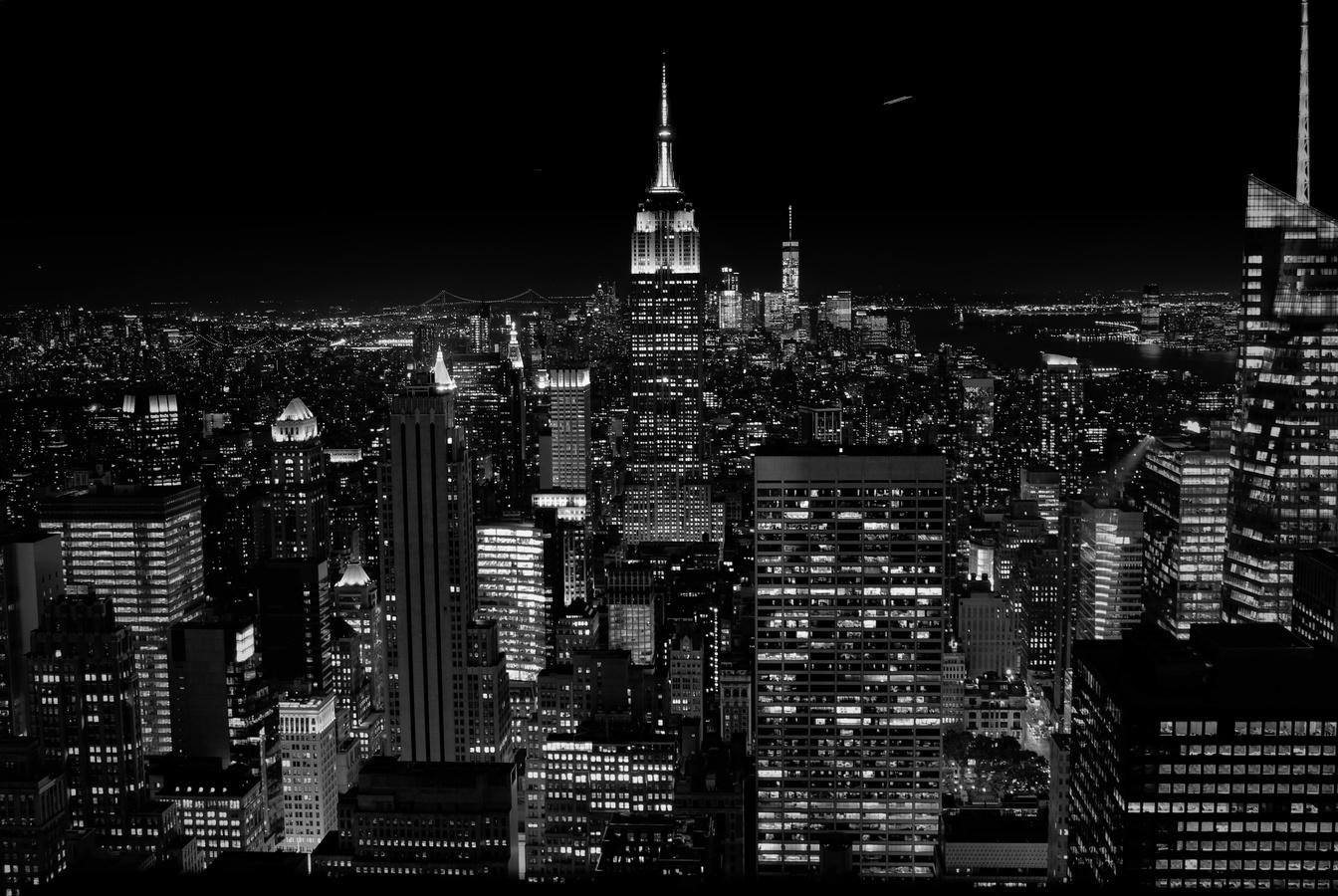 Noční New York