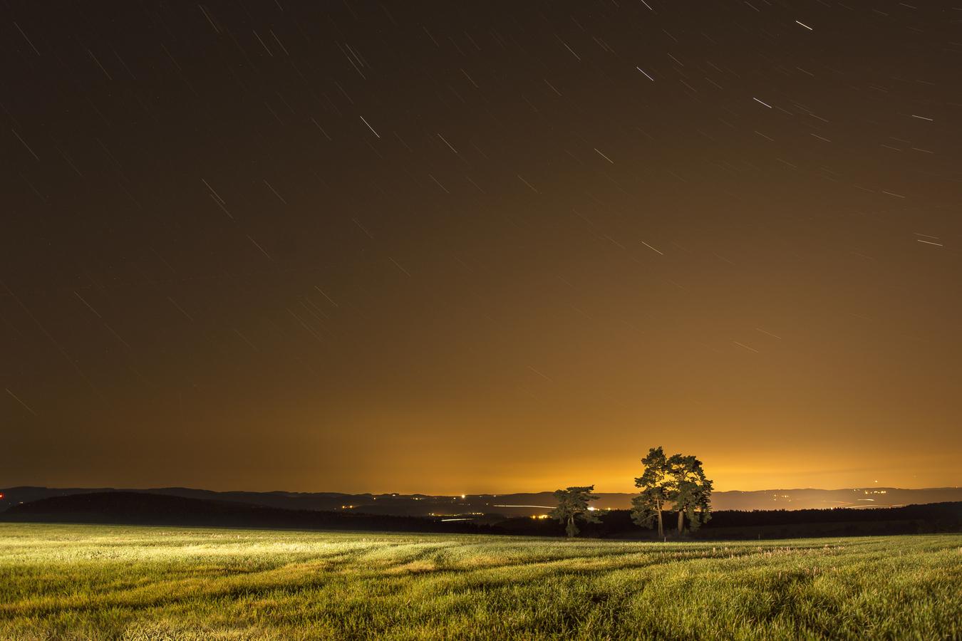 Padající hvězdy