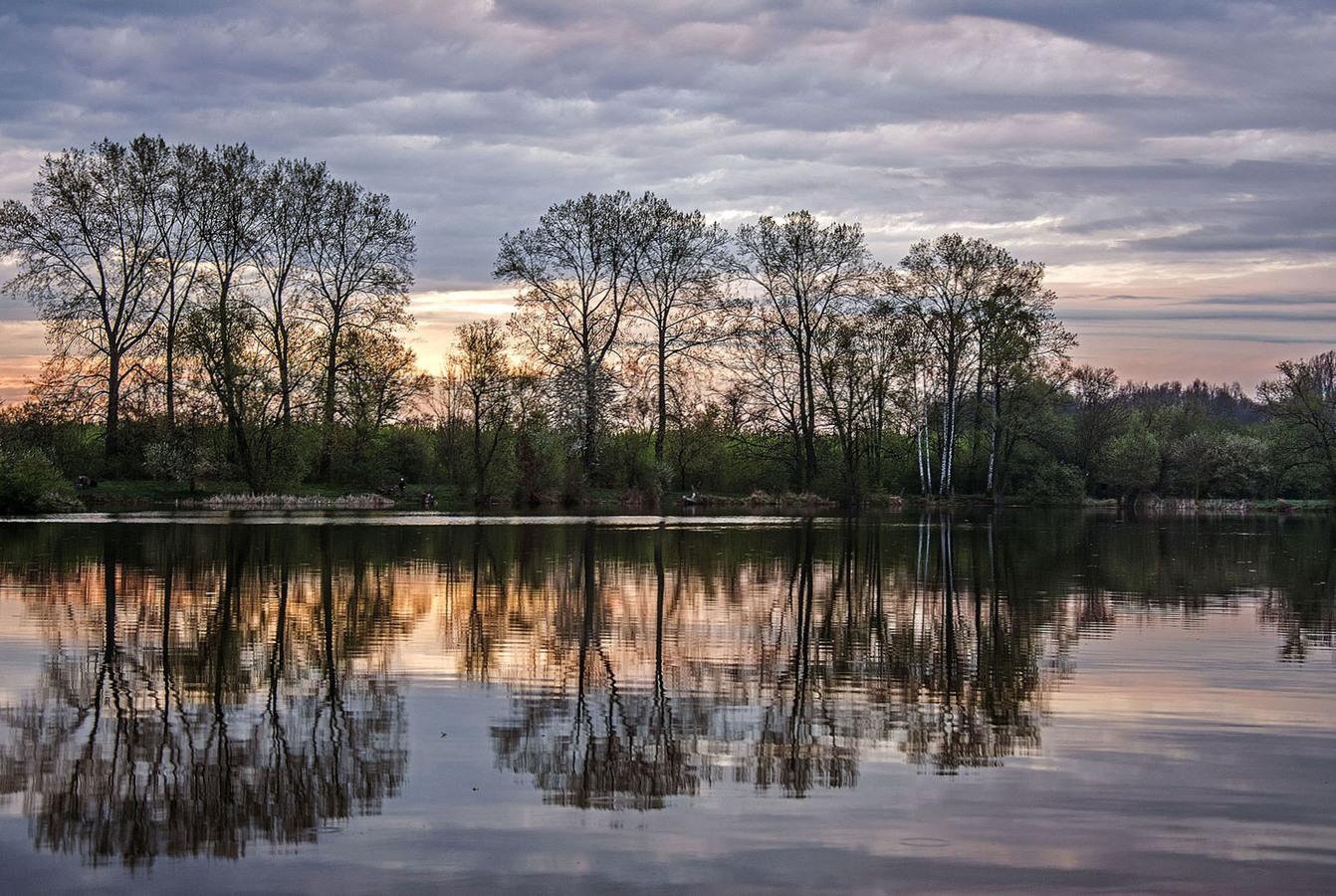 Tichá, zrcadlící se krása....