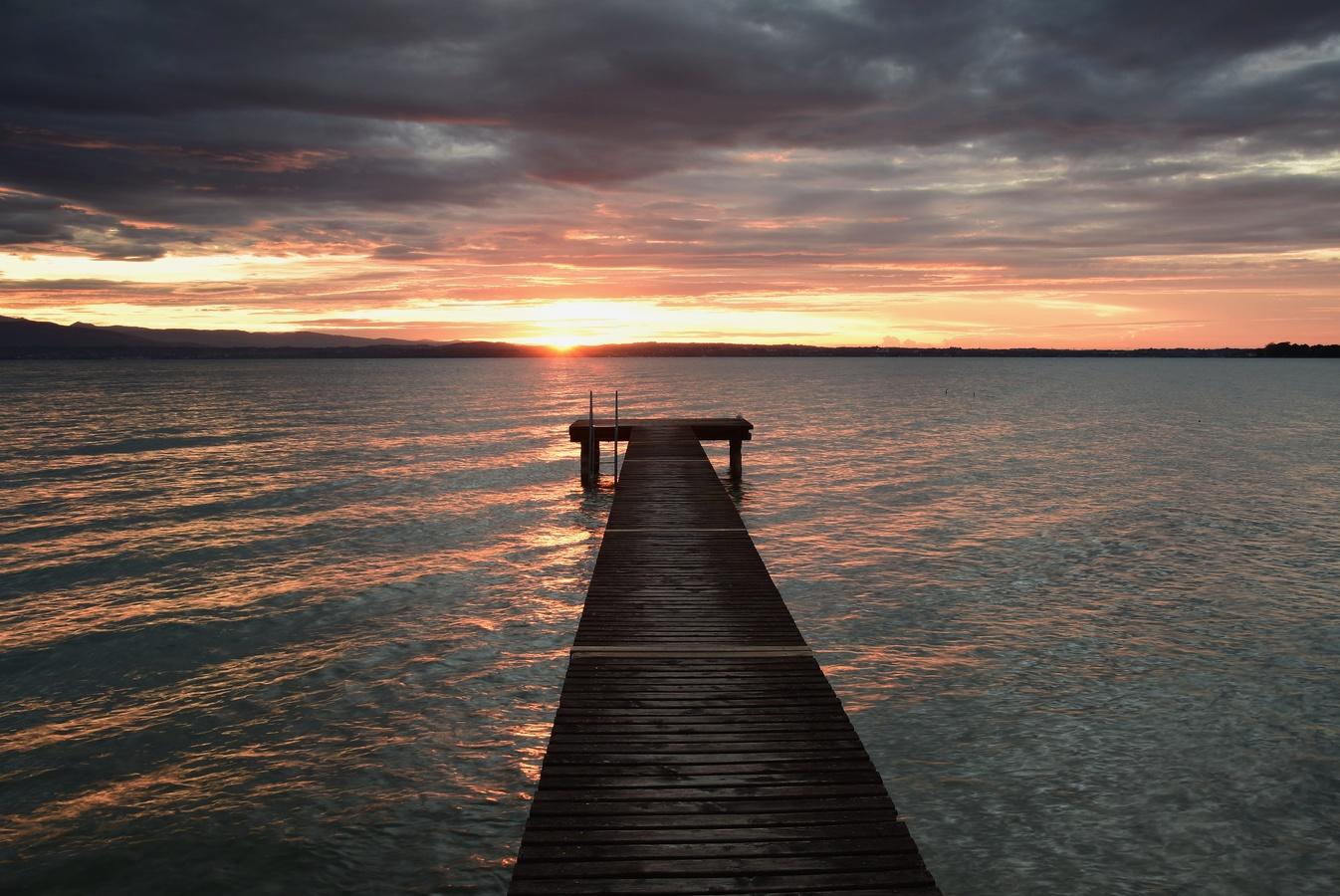 Ráno u gardského jezera :-)