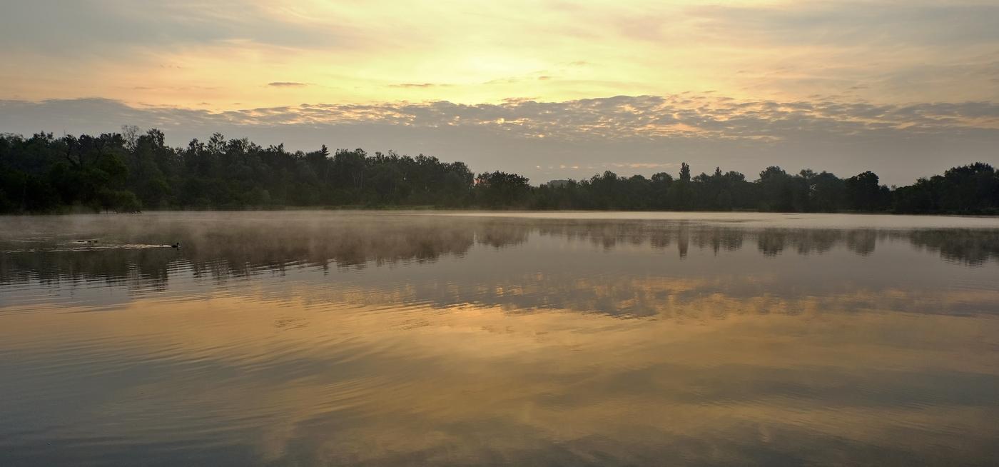 jarní svítání