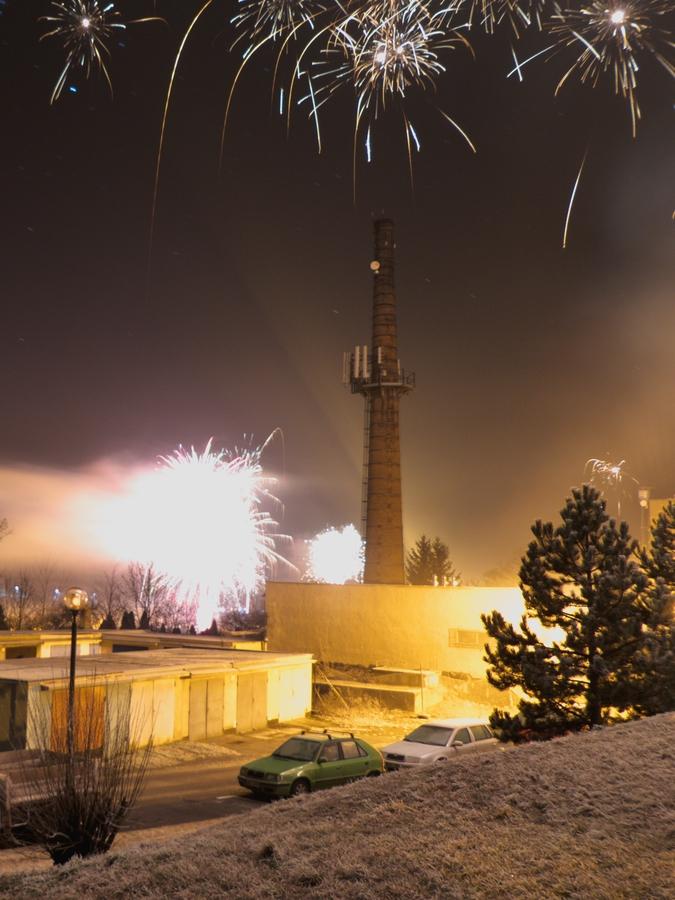 První vteřiny Nového roku
