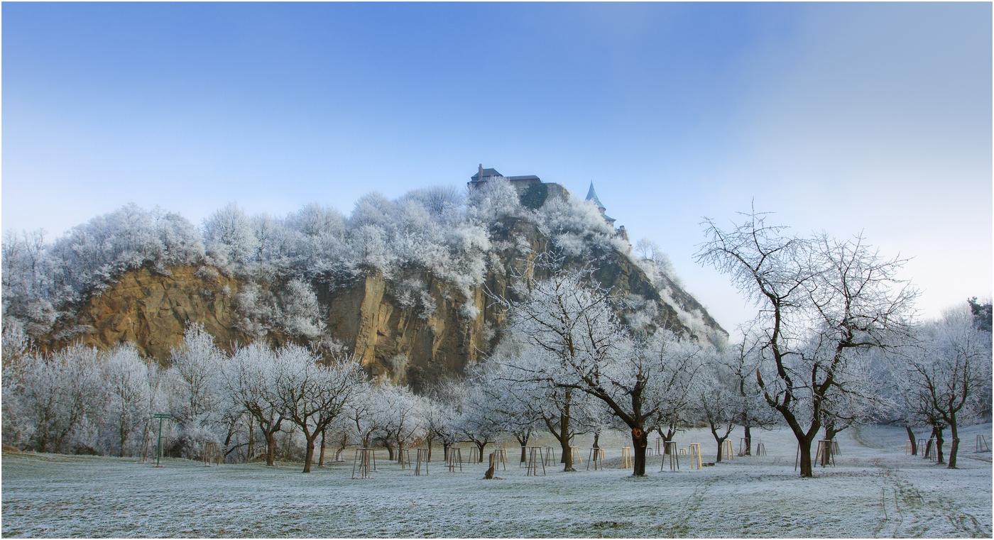 Zimní Kunětická hora II.