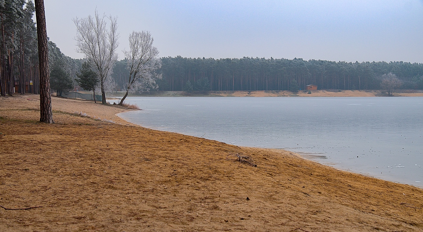 Jezero Lhota  (po sezóně)