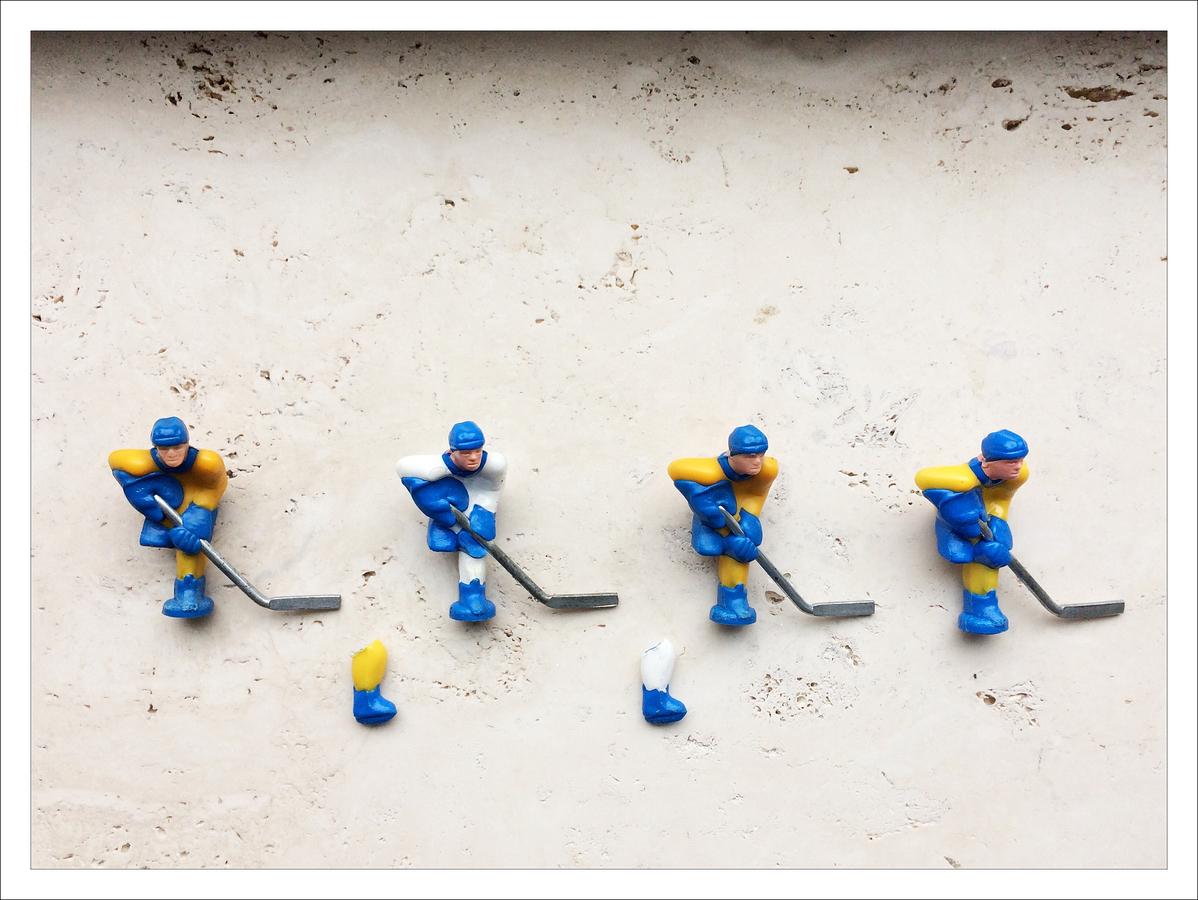 hokej, to je tvrdý sport