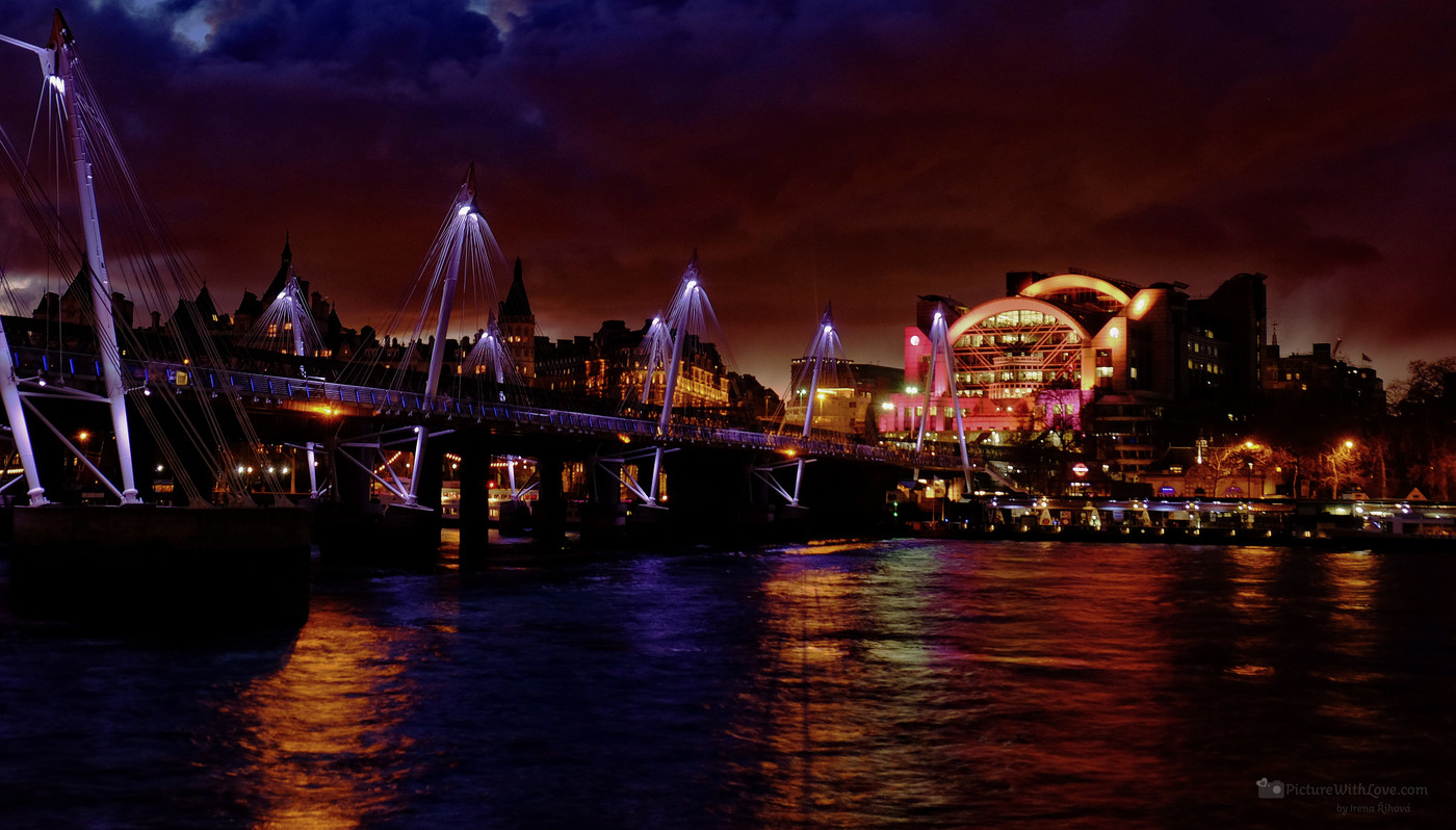 Hungerford Bridge, Londýn
