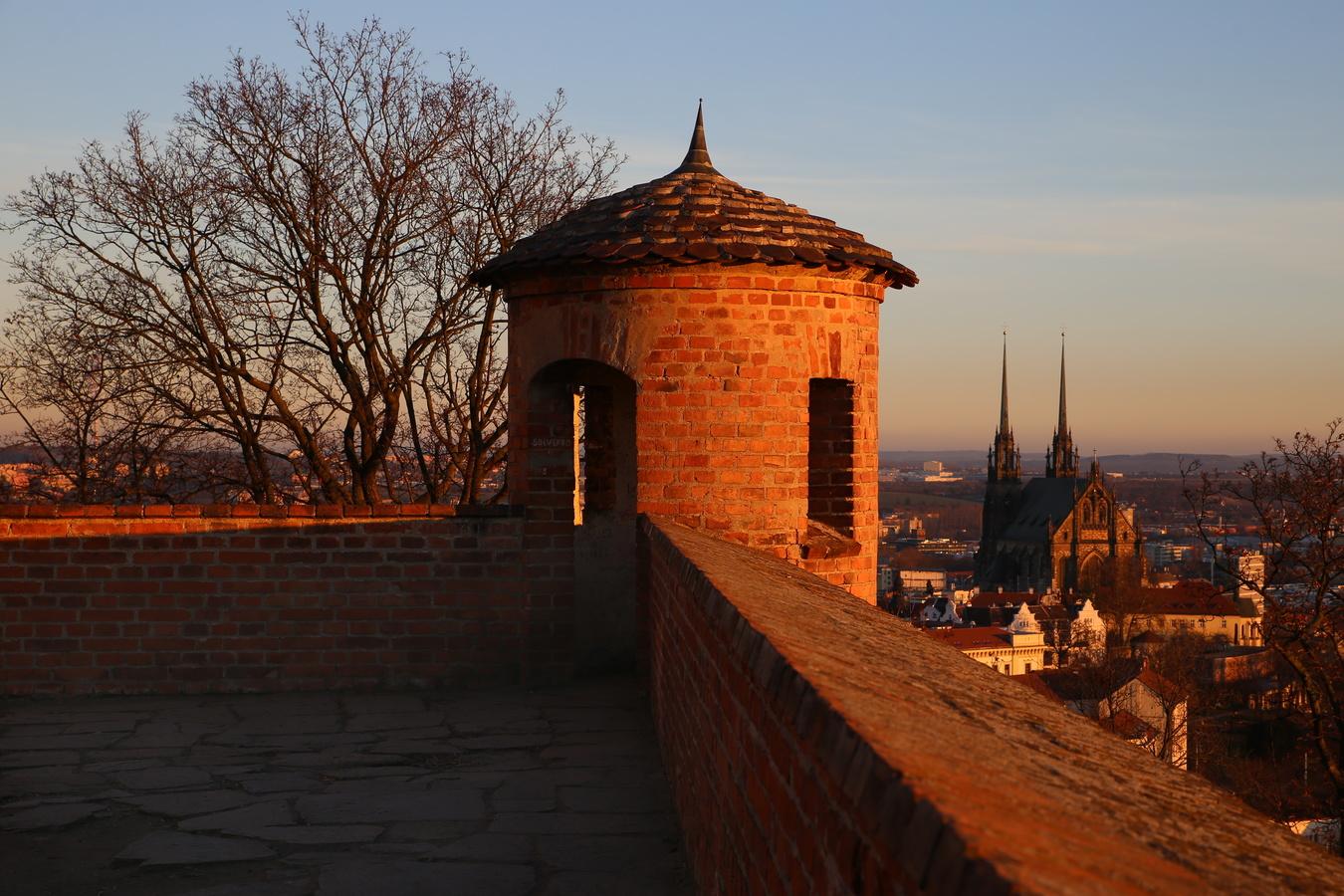 Brno západovka pod Špilberkem