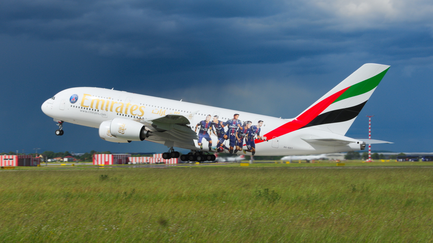 Emirates A380 Paris Saint-Germain FC