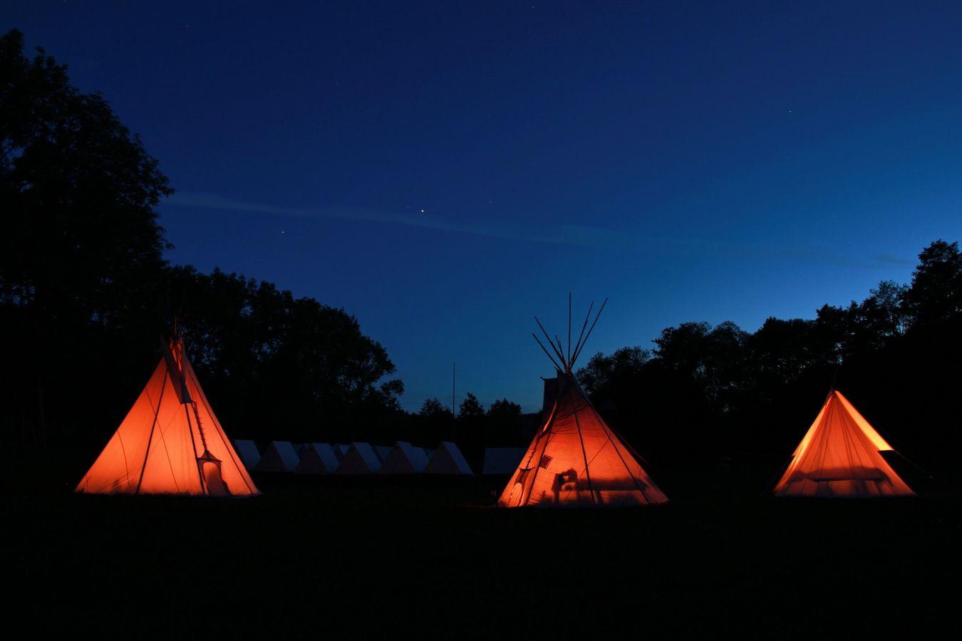 Táborová romantika