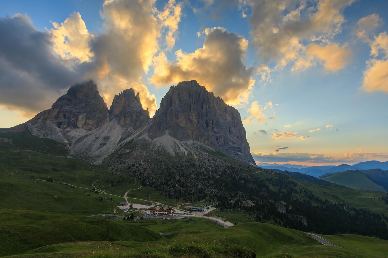 Sassolungo-Dolomity