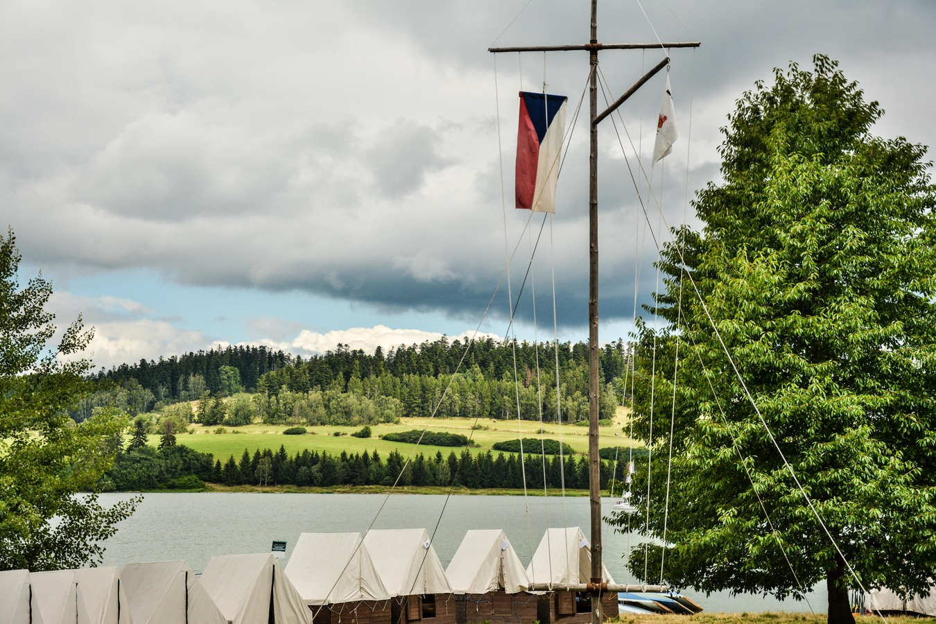 Tábor na Slezské Harťe