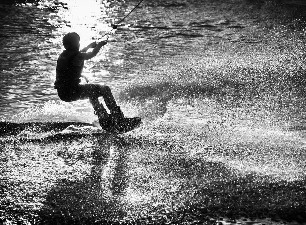 Léto a voda