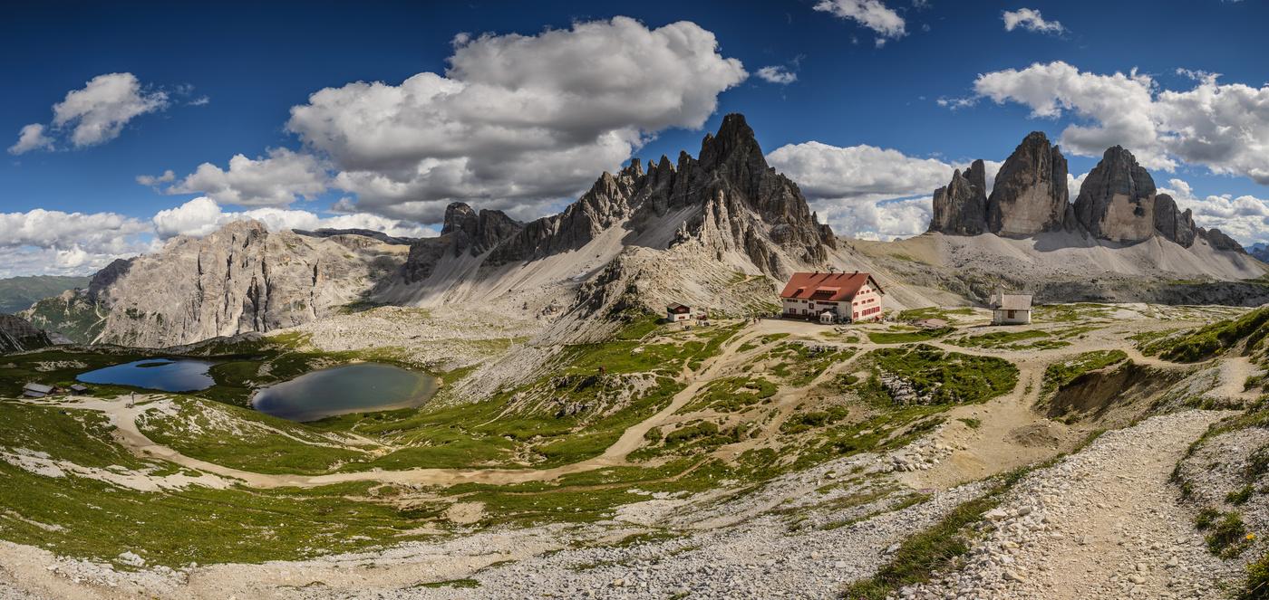 Lago dei Piani a Rifugio Locatelli
