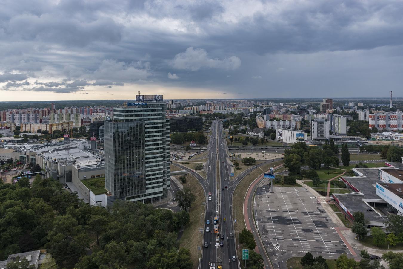 Bratislava před bouří