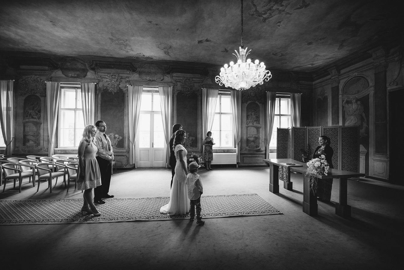 I malá svatba má své kouzlo :)