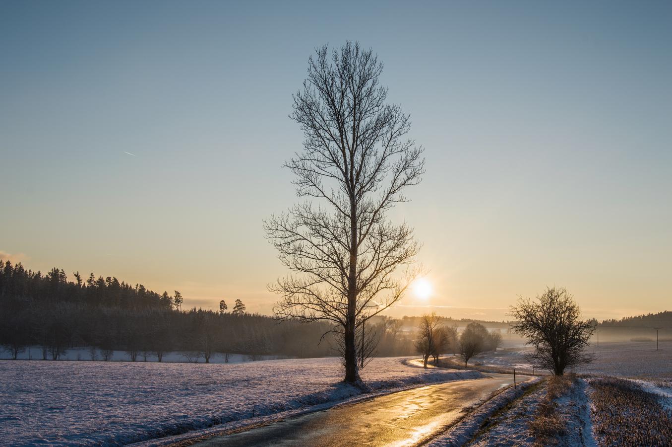 Příchod zimy