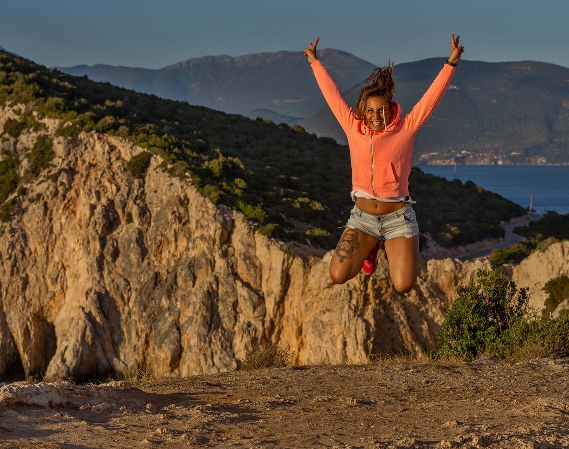 Skáču dobře, skáču ráda