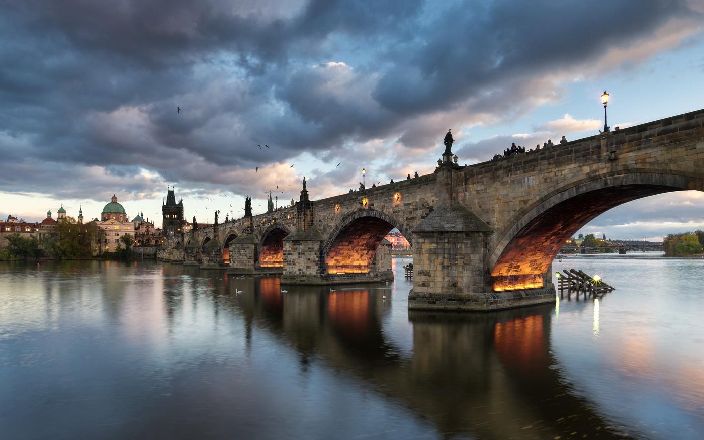 Večer u Karlova mosta