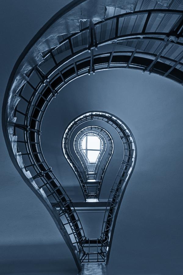 Jedno z nejhezčích schodišť v Praze