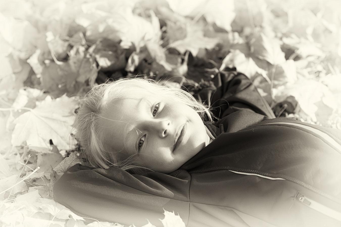 Princezna v černobílé