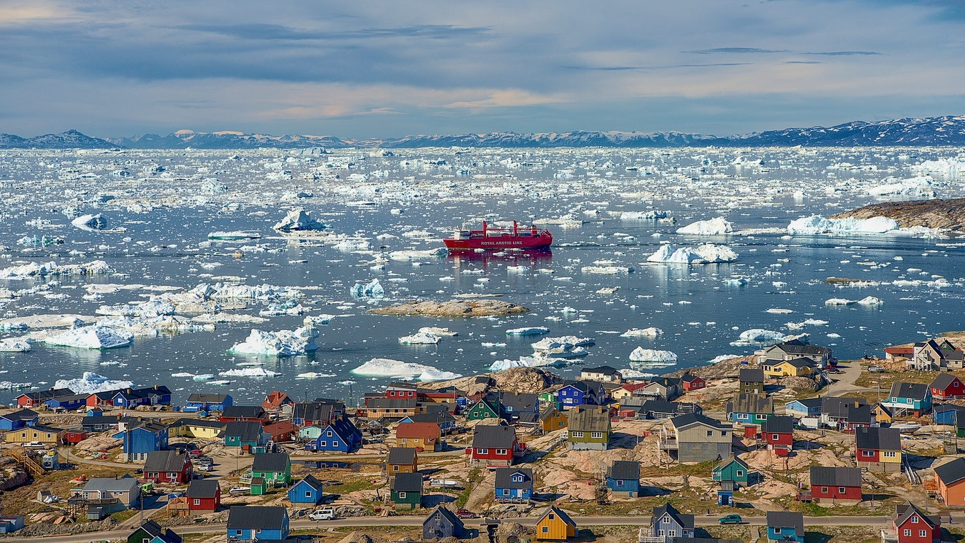 Ledovcový fjord v Ilulissatu