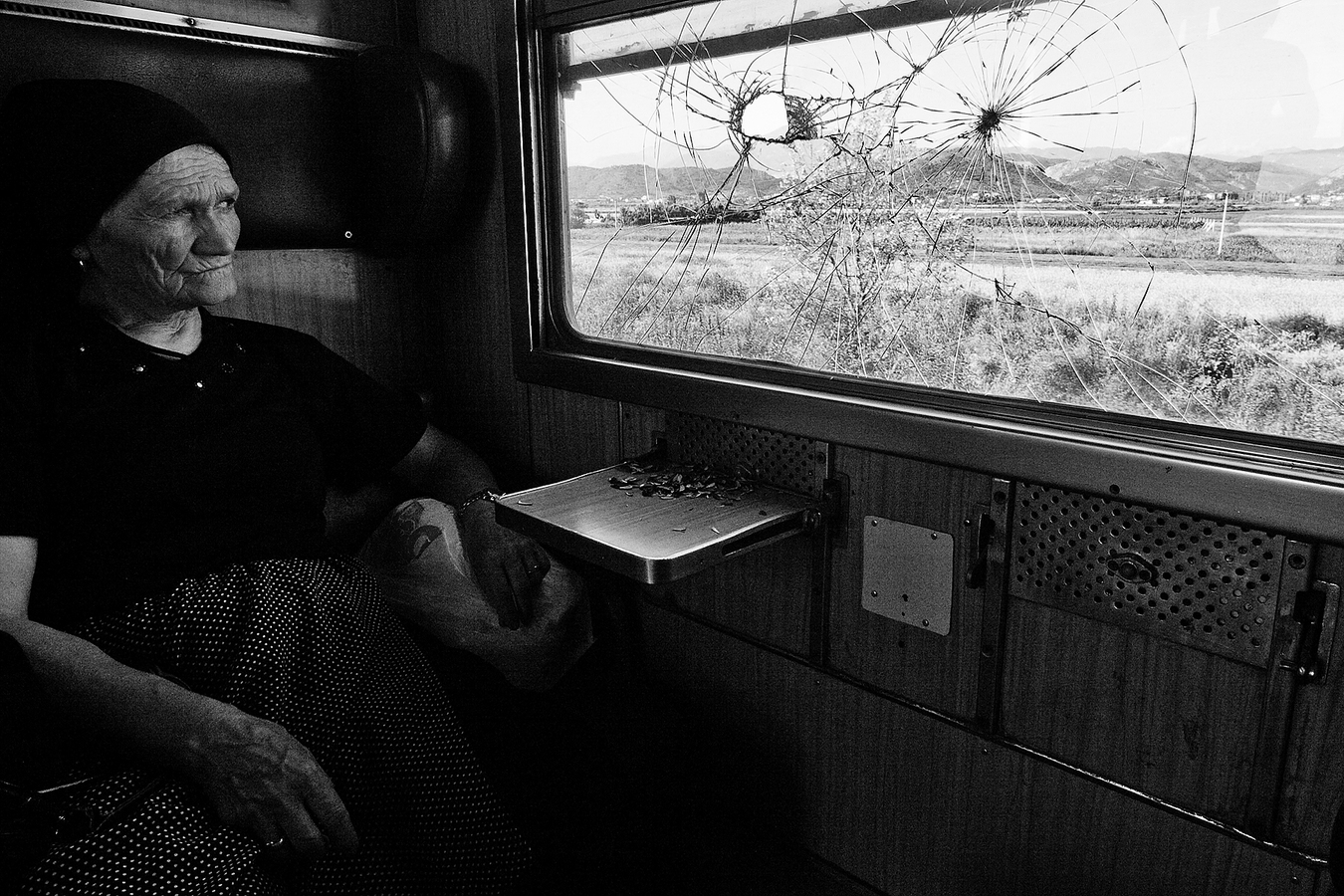 V Albánském vlaku