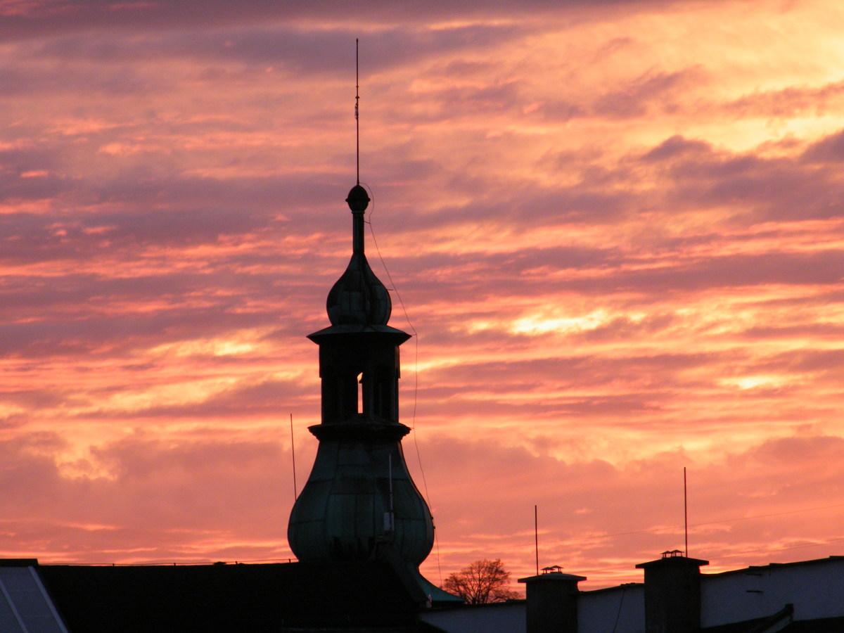 ...západ slunce