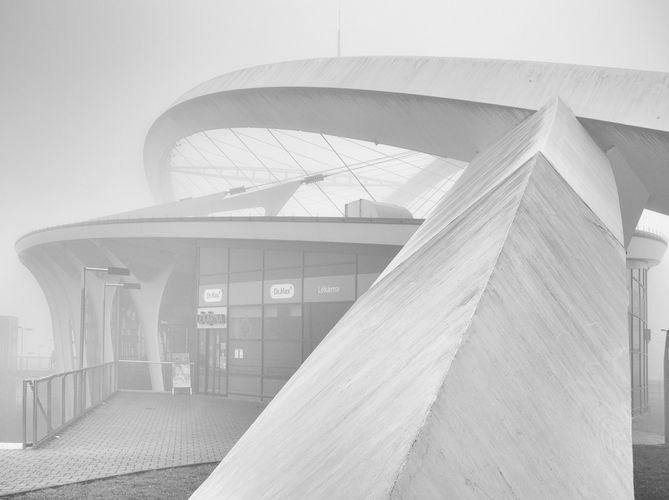 Mlha na Střížkově