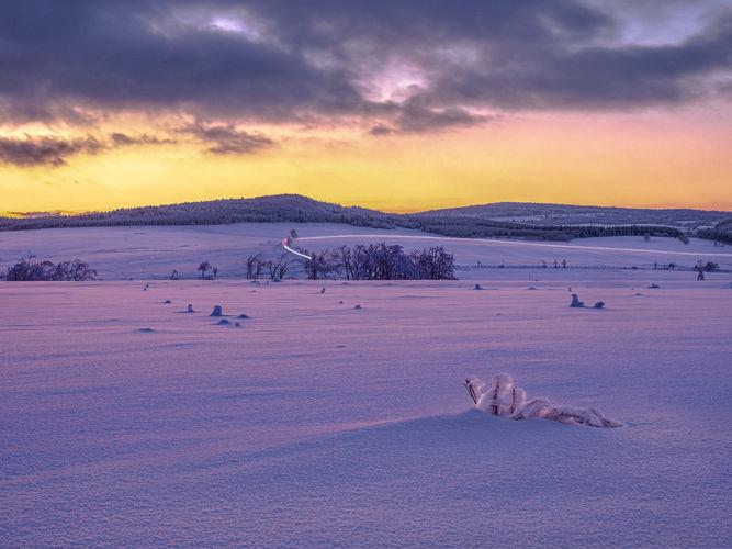 sněhové pláně krušnohorské