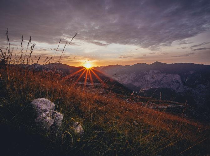 Svítání v Totes Gebirge