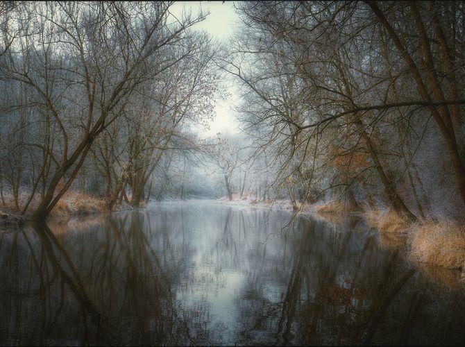 Usínající řeka