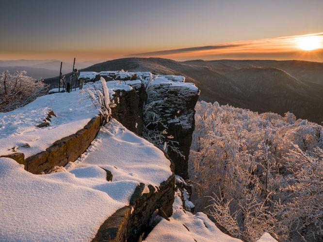 Ráno vo Vihorlatských vrchoch