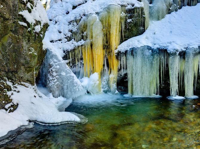 Ledové království (Nýznerovské vodopády)