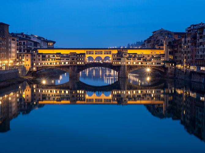 Ponte Vecchio - Starý most - Most zlatníků