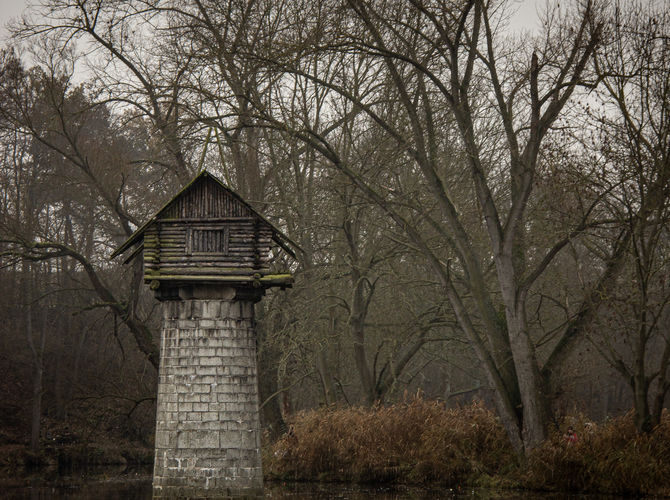 Chata na pilíři