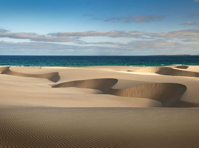 Když písek tvaruje krajinu