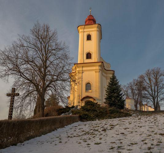 Kostelík v Plesné