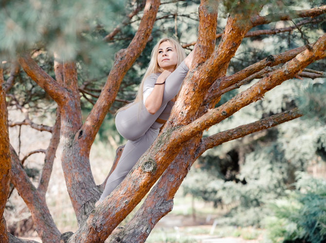 Jóga na stromě