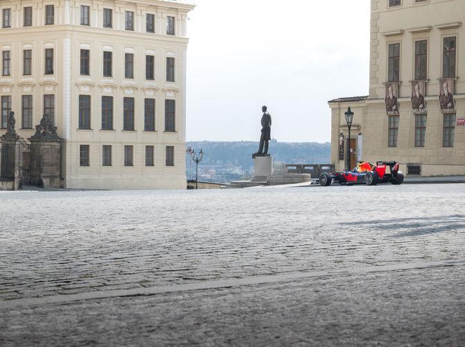 Formule 1 u Pražského hradu