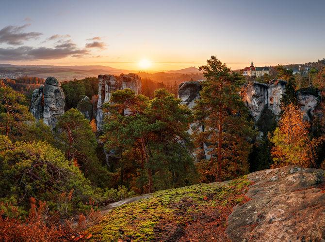 Podzimní Hruboskalsko