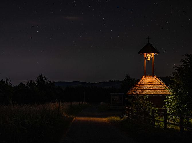 Hvězdná noc na Žítkové