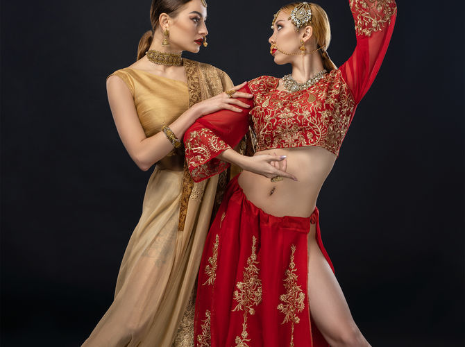 Two indian Bollywood girls