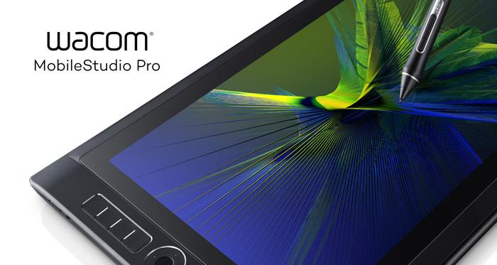 Přijďte na workshopy a předváděcí akce s tablety Wacom Mobile Studio Pro