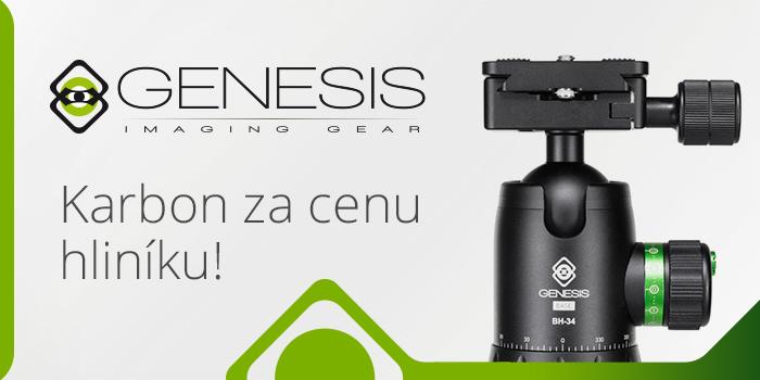 Stativy Genesis: Karbon za cenu hliníku