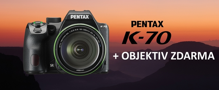 Získejte pevný světelný objektiv zdarma k zrcadlovce Pentax