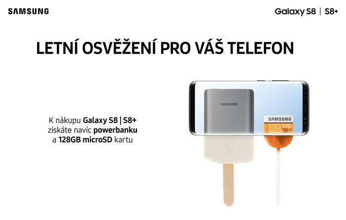 POSLEDNÍ ŠANCE - Kupte si fotomobil Samsung S8/S8+ a dostanete powerbanku a 128GB kartu zdarma