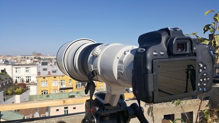 Canon představil novinky na střeše Lucerny