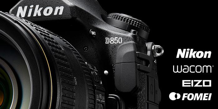 Přijďte na workshop s Nikon D850 a úpravou fotografií s EIZO a Wacom
