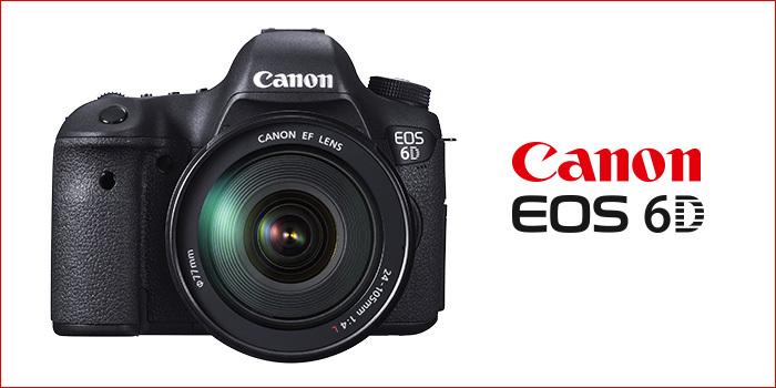 Zrcadlovka Canon EOS 6D se slevou 6 000 Kč!