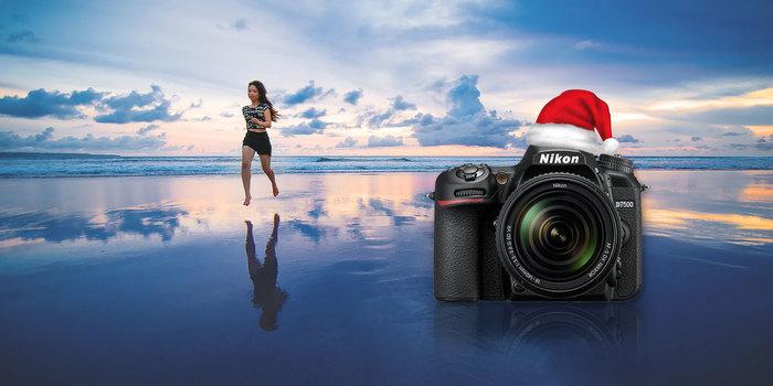 Vánoce v létě s Nikonem